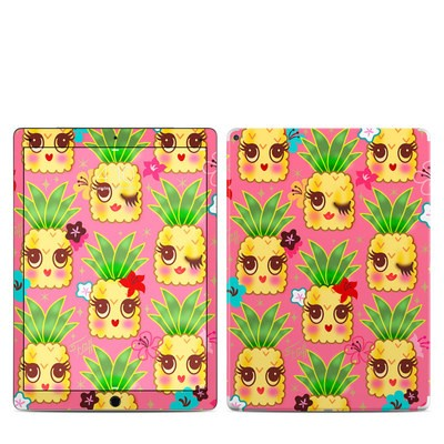 Apple iPad Pro 12.9 (1st Gen) Skin - Happy Kawaii Pineapples