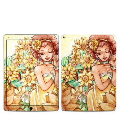 Apple iPad Pro 12.9 (1st Gen) Skin - Lady Sunflower