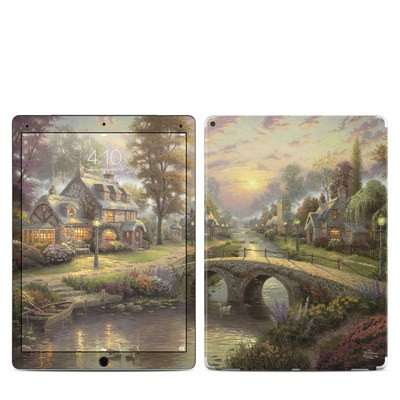 Apple iPad Pro Skin - Sunset On Lamplight Lane
