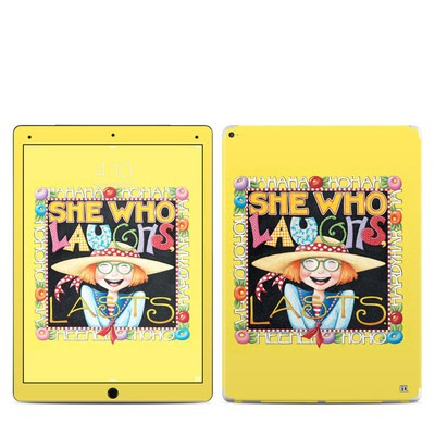 Apple iPad Pro Skin - She Who Laughs