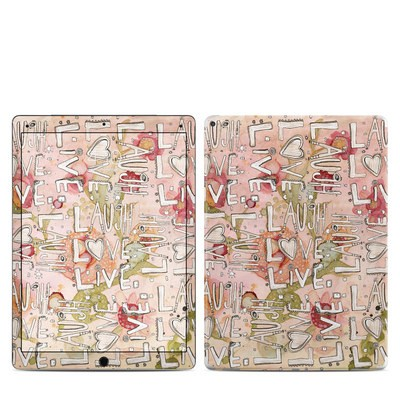 Apple iPad Pro 12.9 (1st Gen) Skin - Love Floral