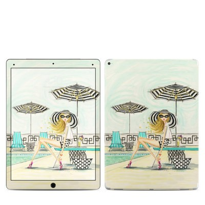 Apple iPad Pro 12.9 (1st Gen) Skin - Luxe Retreat Poolside