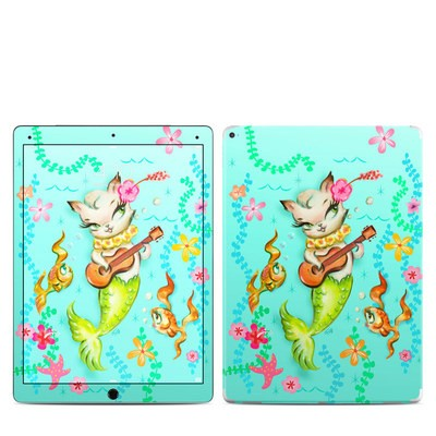 Apple iPad Pro 12.9 (1st Gen) Skin - Merkitten with Ukelele