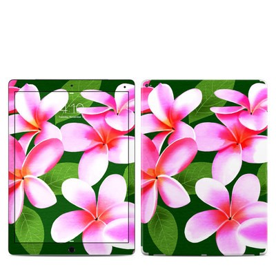 Apple iPad Pro Skin - Pink Plumerias