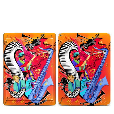 Apple iPad Pro 12.9 (1st Gen) Skin - Red Hot Jazz