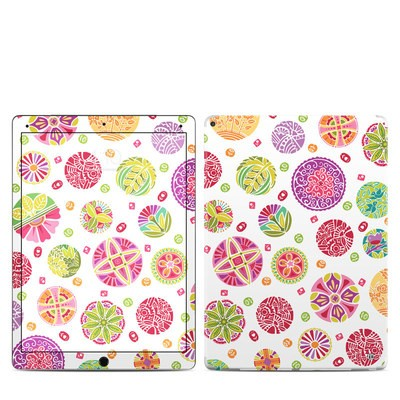 Apple iPad Pro Skin - Round Flowers