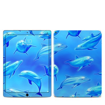 Apple iPad Pro 12.9 Skin - Swimming Dolphins