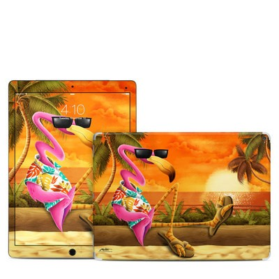 Apple iPad Pro 12.9 (1st Gen) Skin - Sunset Flamingo