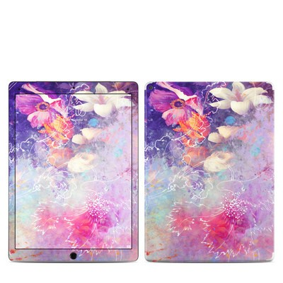 Apple iPad Pro 12.9 (1st Gen) Skin - Sketch Flowers Lily