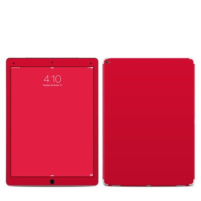 Apple iPad Pro 12.9 (1st Gen) Skin - Solid State Red