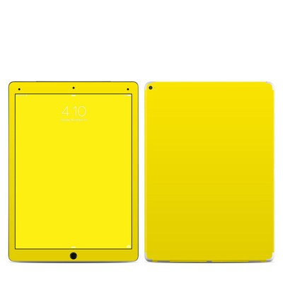Apple iPad Pro 12.9 (1st Gen) Skin - Solid State Yellow