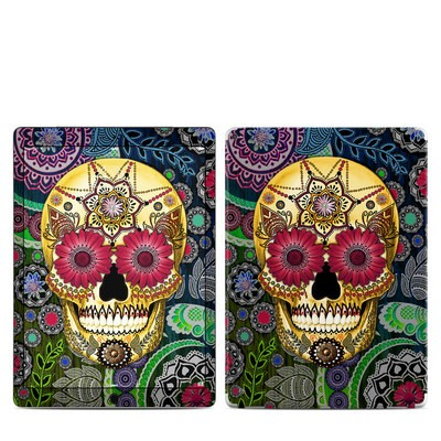 Apple iPad Pro Skin - Sugar Skull Paisley
