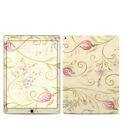Apple iPad Pro Skin - Tulip Scroll
