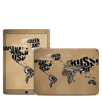 Apple iPad Pro 12.9 (1st Gen) Skin - Type Map