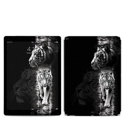 Apple iPad Pro Skin - White Tiger