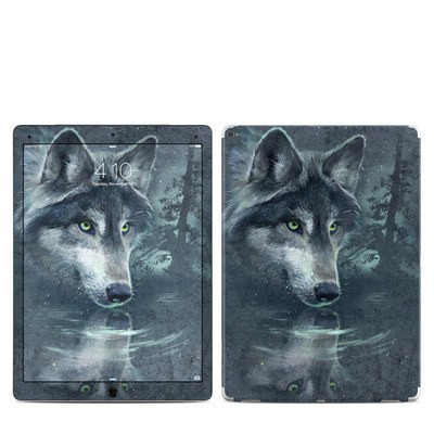 Apple iPad Pro 12.9 (1st Gen) Skin - Wolf Reflection