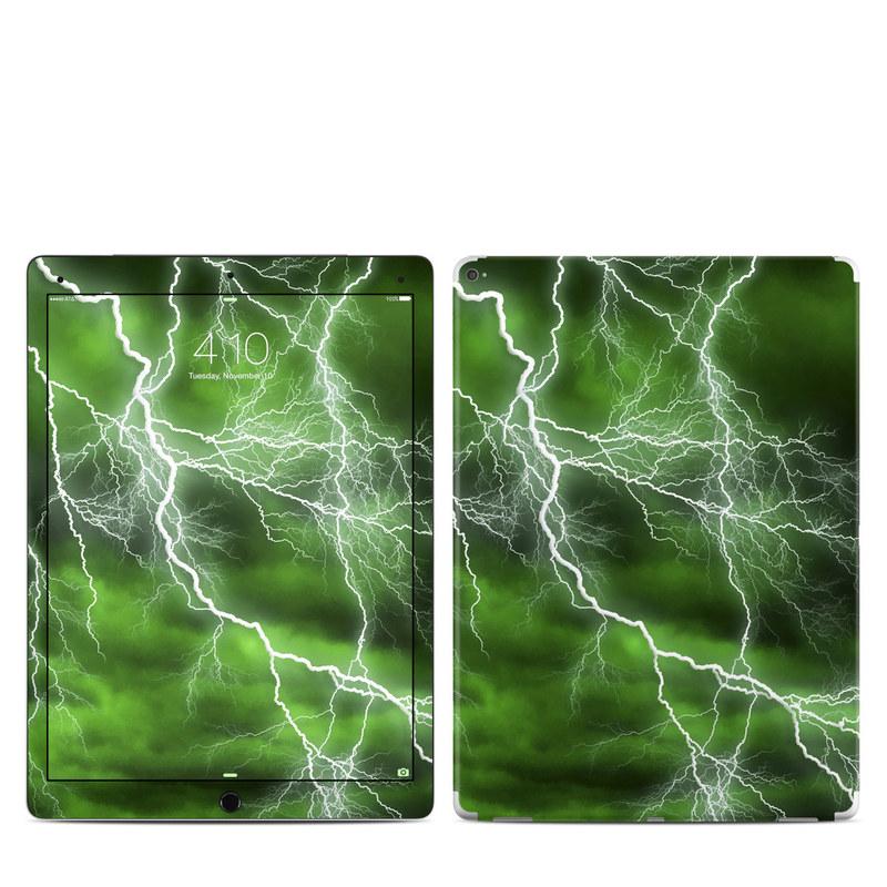iPad Pro 12.9in Skin 1st Gen Black Marble Sticker Decal