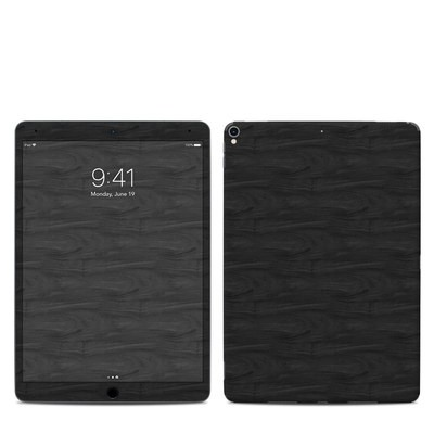 Apple iPad Pro 10.5 Skin - Black Woodgrain