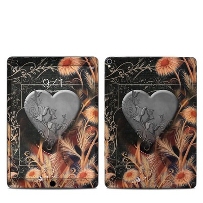 Apple iPad Pro 10.5 Skin - Black Lace Flower