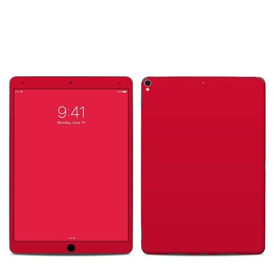 Apple iPad Pro 10.5 Skin - Solid State Red