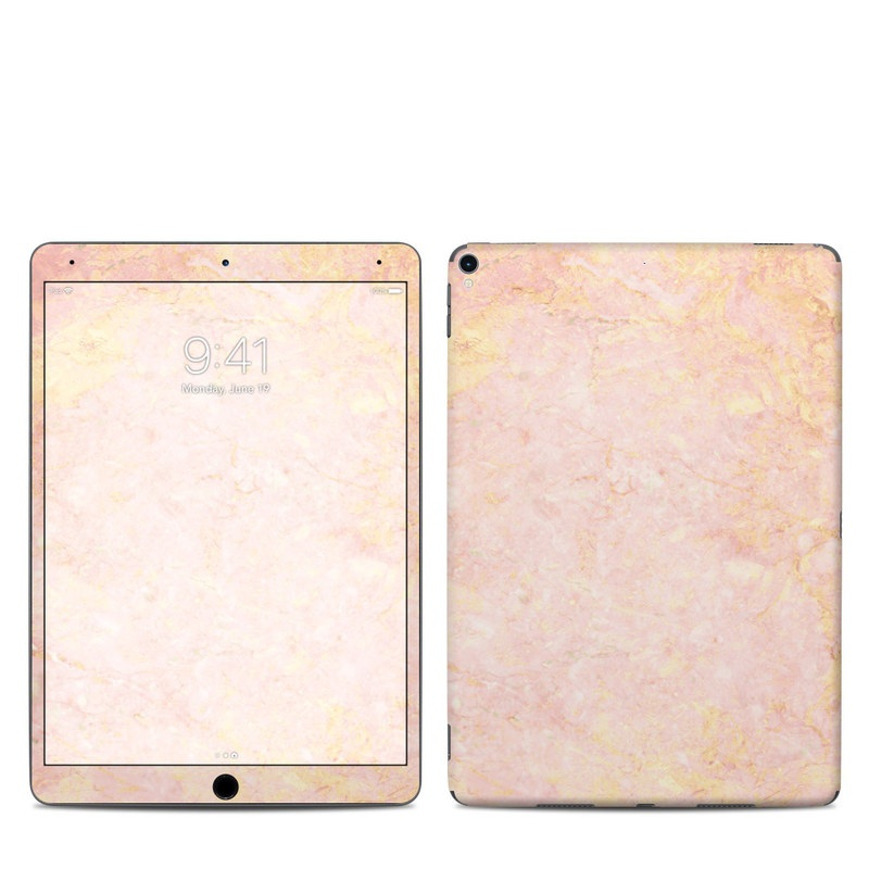apple ipad pro 10 5 skin rose gold marble by marble collection decalgirl. Black Bedroom Furniture Sets. Home Design Ideas