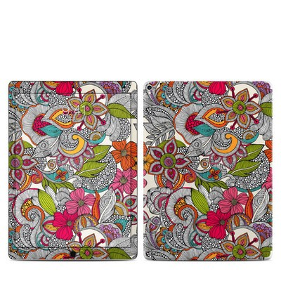Apple iPad Pro 12.9 (2nd Gen) Skin - Doodles Color