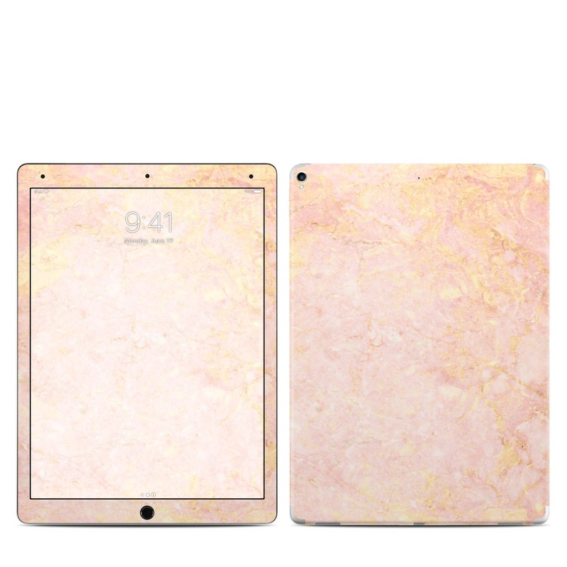 apple ipad pro 2017 skin rose gold marble by marble. Black Bedroom Furniture Sets. Home Design Ideas