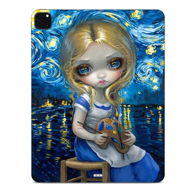 Apple iPad Pro 12.9 (4th Gen) Skin - Alice in a Van Gogh