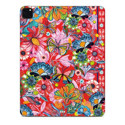 Apple iPad Pro 12.9 (4th Gen) Skin - Intense Garden
