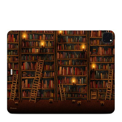 Apple iPad Pro 12.9 (4th Gen) Skin - Library