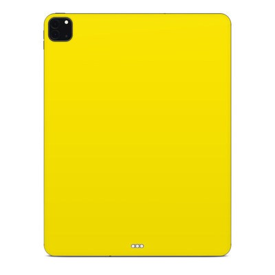 Apple iPad Pro 12.9 (4th Gen) Skin - Solid State Yellow