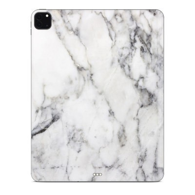 Apple iPad Pro 12.9 (4th Gen) Skin - White Marble