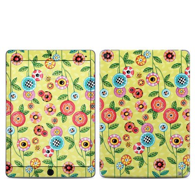Apple iPad Pro 9.7 Skin - Button Flowers