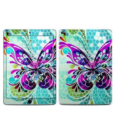 Apple iPad Pro 9.7 Skin - Butterfly Glass