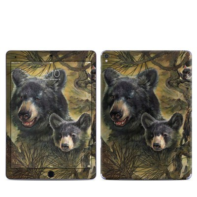Apple iPad Pro 9.7 Skin - Black Bears