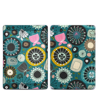 Apple iPad Pro 9.7 Skin - Blooms Teal