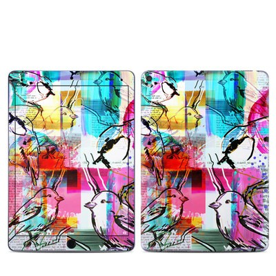 Apple iPad Pro 9.7 Skin - Book Birds