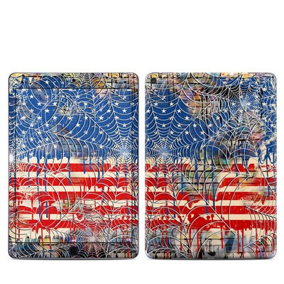 Apple iPad Pro 9.7 Skin - Cobweb Flag