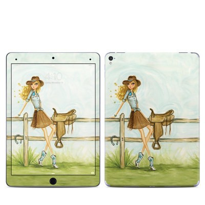 Apple iPad Pro 9.7 Skin - Cowgirl Glam