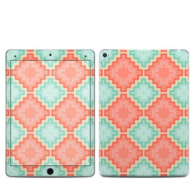 Apple iPad Pro 9.7 Skin - Coral Diamond