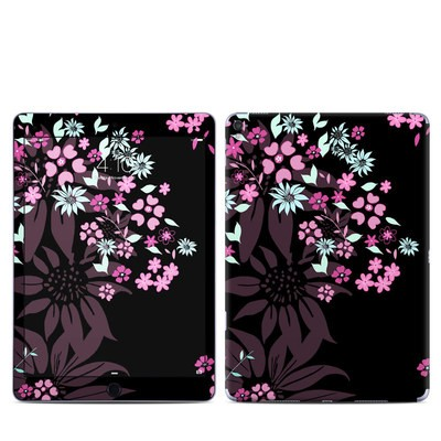 Apple iPad Pro 9.7 Skin - Dark Flowers