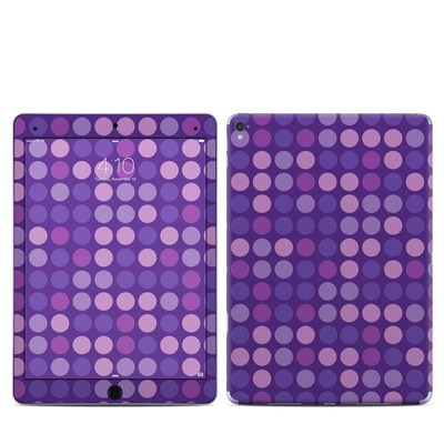 Apple iPad Pro 9.7 Skin - Big Dots Purple