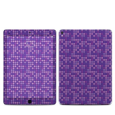 Apple iPad Pro 9.7 Skin - Dots Purple