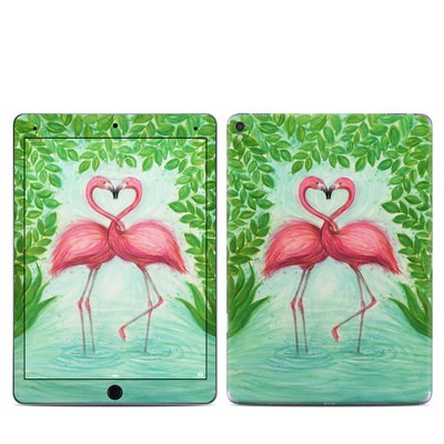 Apple iPad Pro 9.7 Skin - Flamingo Love