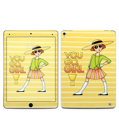 Apple iPad Pro 9.7 Skin - You Go Girl