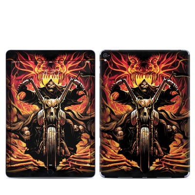 Apple iPad Pro 9.7 Skin - Grim Rider