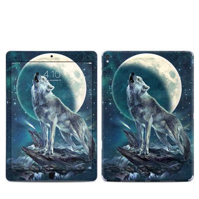 Apple iPad Pro 9.7 Skin - Howling Moon Soloist