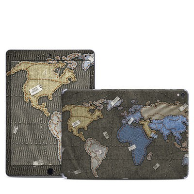 Apple iPad Pro 9.7 Skin - Jean Map