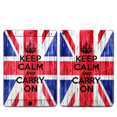 Apple iPad Pro 9.7 Skin - Keep Calm - Grunge