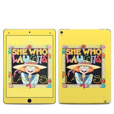 Apple iPad Pro 9.7 Skin - She Who Laughs